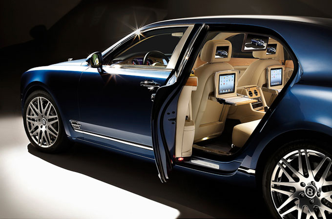 Bentley confirms executive multimedia specification for flagship Mulsanne