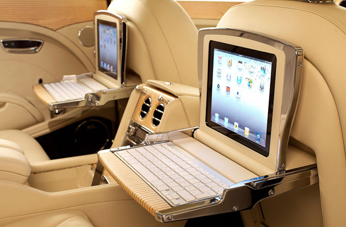 Bentley Mulsanne executive interior multimedia specification packages