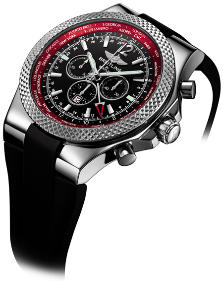 Limited edition Breitling for Bentley GMT  'V8' chronograph