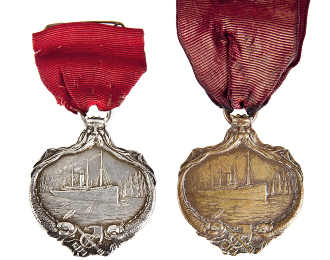 Charles Miller Carpathia Medals Titanic collectibles