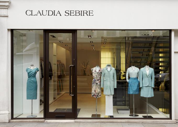 Claudia Sebire retail store fulham road chelsea