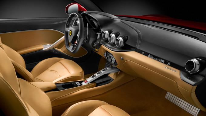 Ferrari unveil F12berlinetta to supersede their 599 GTB Fiorano