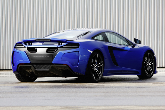 German Porsche tuners GEMBALLA turn their attention to the McLaren MP4-12C