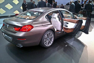 Geneva Motor Show 2012 BMW 6-series gran coupe