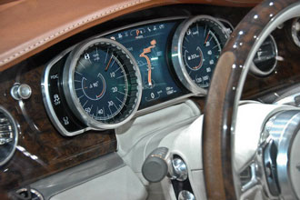 Geneva Motor Show 2012 Bentley SUV first glimpse dials