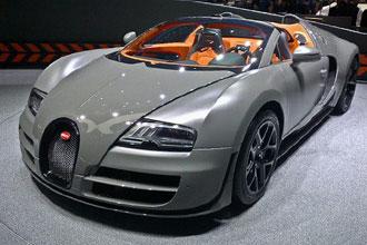 Geneva Motor Show 2012 Bugatti Grand Sport Vitesse