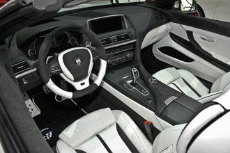 Geneva Motor Show 2012 Lumma design BMW M6 interior