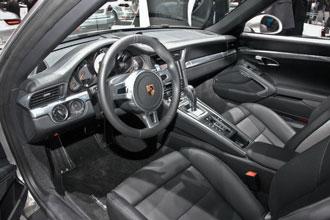 Geneva Motor Show 2012 Porsche 911 Carrera S interior