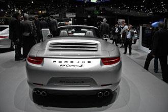 Geneva Motor Show 2012 Porsche 911 Carrera S