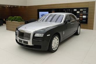 Geneva Motor Show 2012 Rolls Royce Ghost split tone