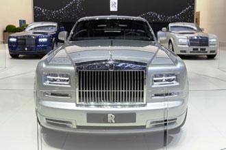 Geneva Motor Show 2012 Rolls Royce Phantom II saloon