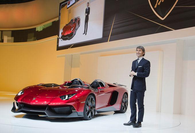 Lamborghini Aventador J Geneva Motor Show