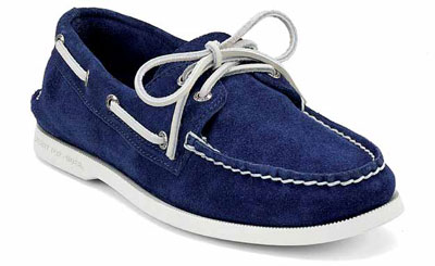 Sperry Spring Summer A/O 2-EYE blue suede