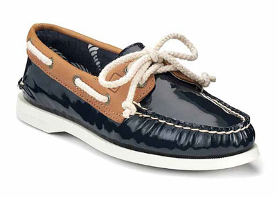 Sperry Spring Summer A/O 2-EYE blue suede navy and brown