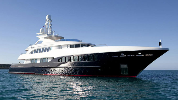 The Dubai International Boat Show 2012 Heesen Yachts Project California