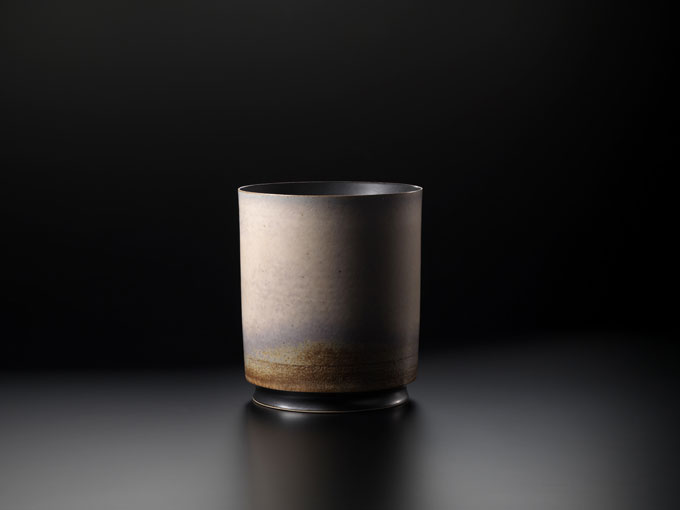 Thomas Bohle Vessel-11 Stoneware with Copper Matt glaze
