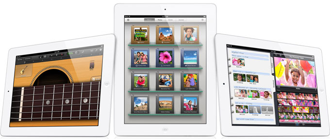 The new iPad 3 with iLife software