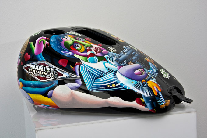 Harley Davidson Art of Custom - fuel tank art competition