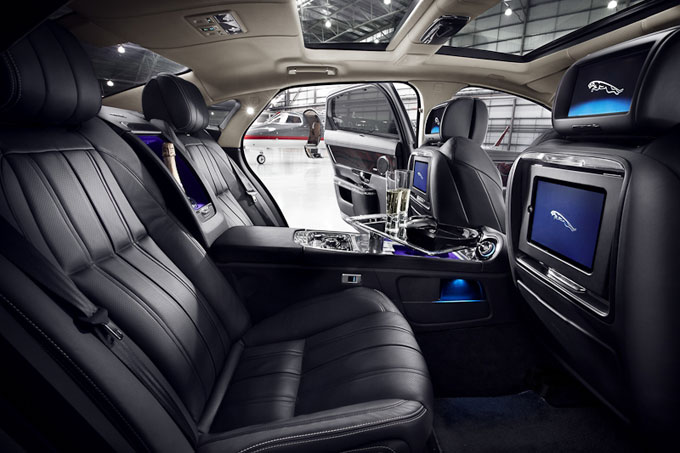 Jaguar XJ Ultimate unveiled showcasing Meridian Audio's latest Surround Sound System