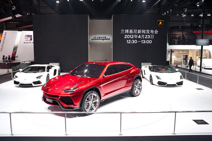 Lamborghini Urus concept presented at Beijing Motorshow 2012