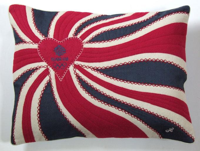 London 2012 Olympics Paralympics London GB cushion