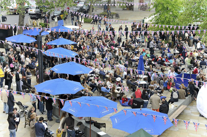 Diamond Jubilee Royal Tea Party London 2012