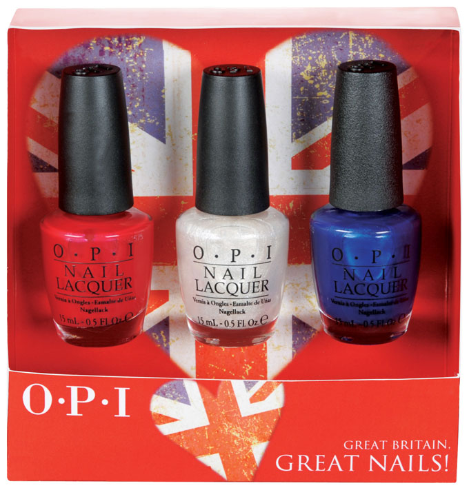 OBI Great Britain Great Nails collection