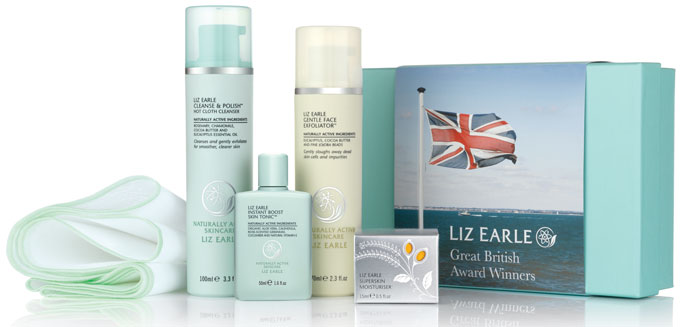 Liz-Earle Great British AW image of full product range