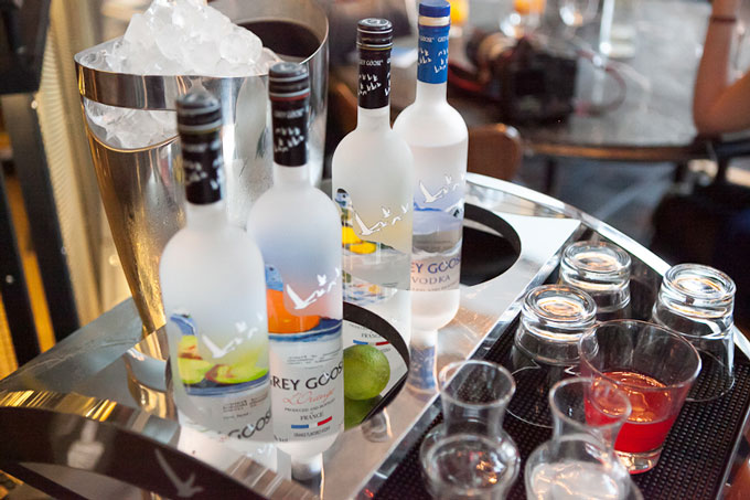 Unique Grey Goose cocktail catered for your personal taste buds