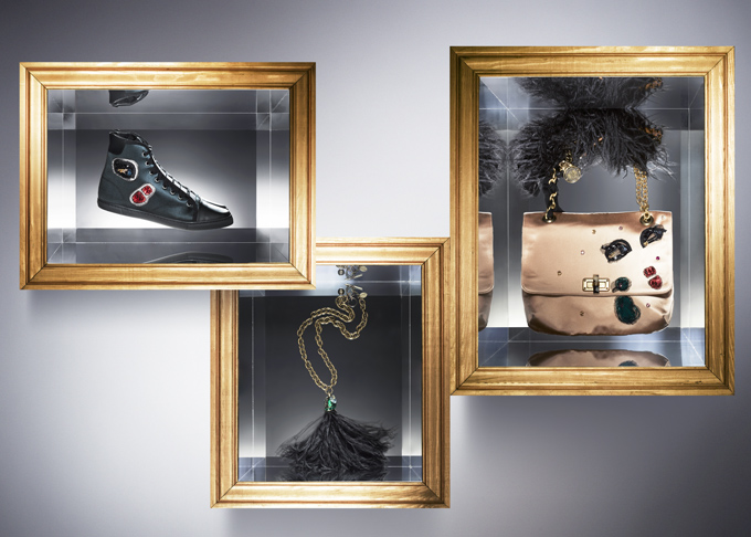 "Alber Elbaz of Lanvin creates ""Happy"" Les 10 Ans, a mix-and-match capsule accessories collection"