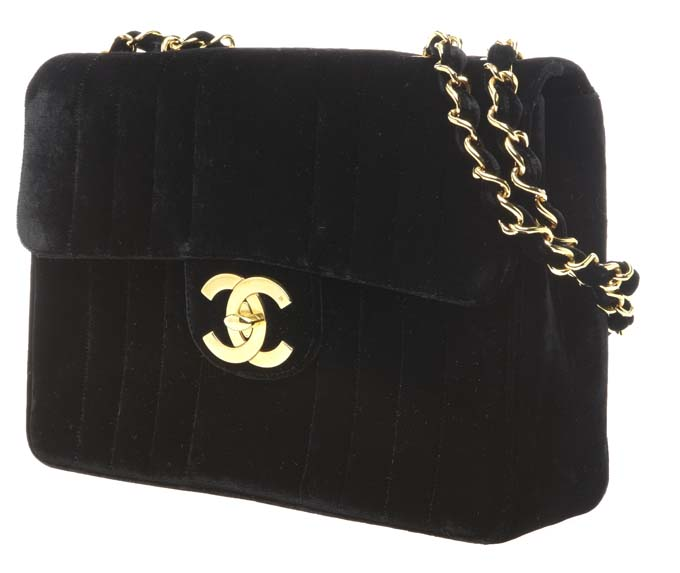 black Chanel handbag