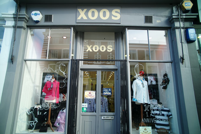 Boutique of the Week XOOS shirt boutique kings road chelsea exterior image