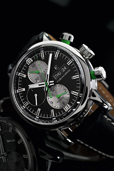 Convopiece Andrian Aldred Chronoswiss Pacific Chrono watch image