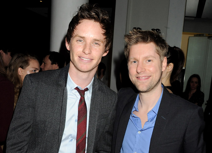 Christopher Bailey and Eddie Redmayne Image