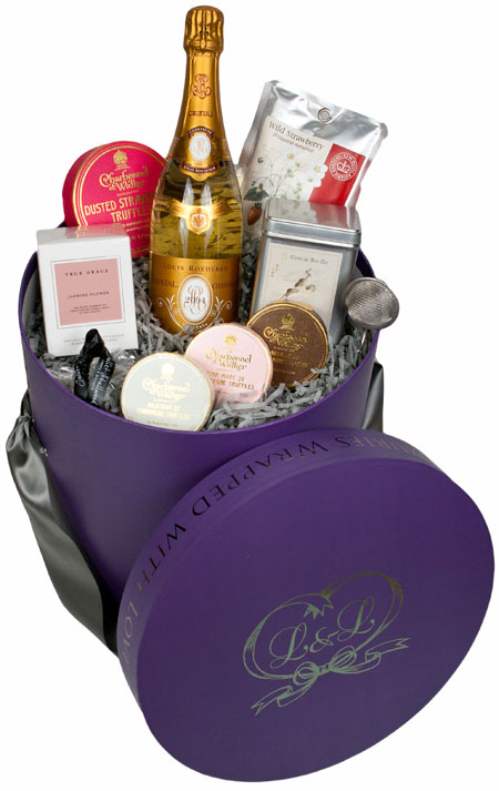 Little Luxuries Wrapped With Love luxury hamper image