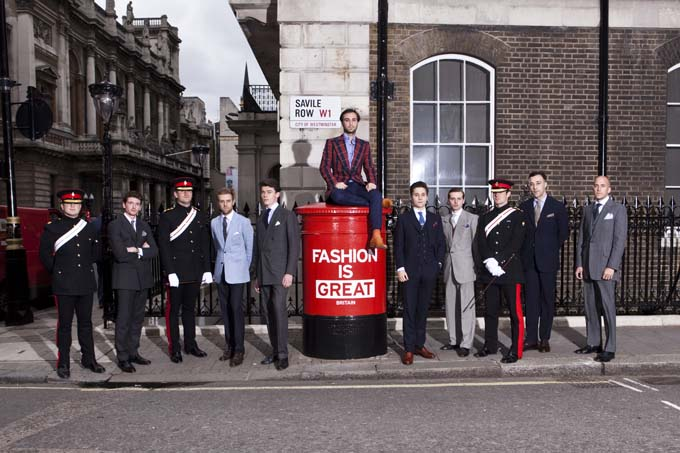 Savile Row and The Burlington Arcade's unique contributions to London Collections: Men