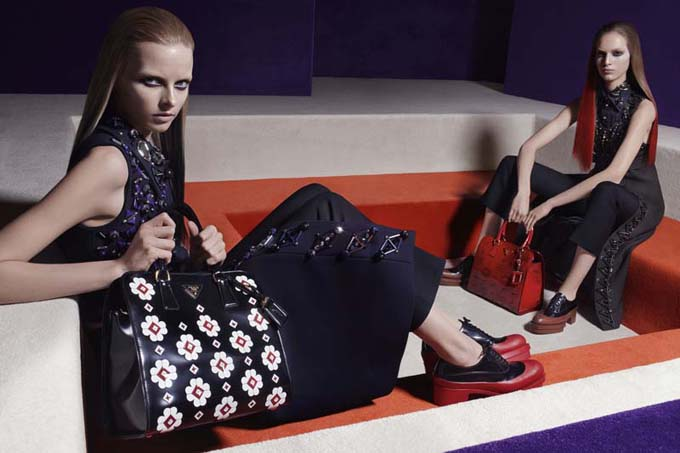 Prada Womenswear Autumn Winter 2012 Advertising Campaign Image