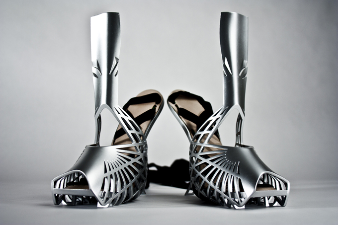 Shoes By Bryan Heavy Metal Series Caged Heel Image
