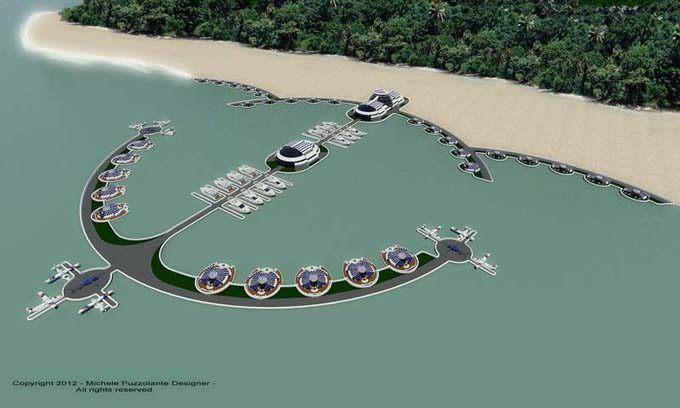 The Solar Floating Resort 2 View 2 Image