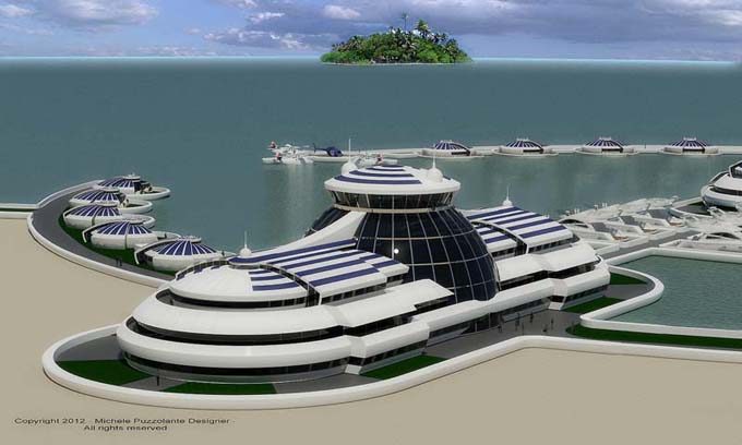 The Solar Floating Resort 2 View 4 Image