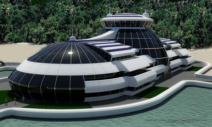 Solar Floating Resort Part 2, a vision into the revolutionary ecotourism that is to come