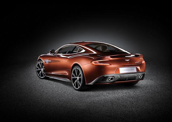 Aston Martin Vanquish exterior rear view