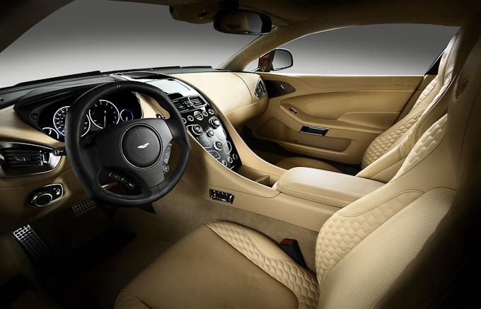 Aston Martin Vanquish 2012 interior view