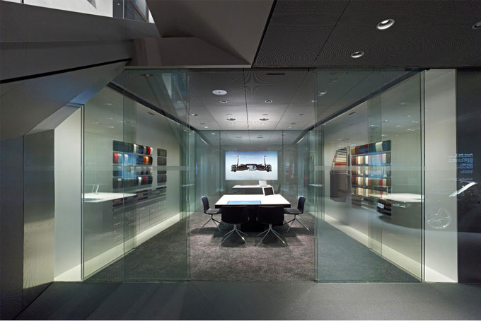 Audi City London in Green Park Piccadilly consultation room