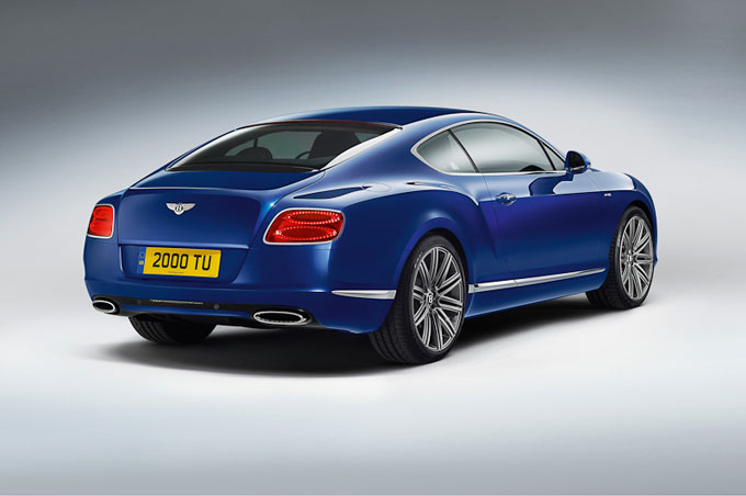 Bentley introduces its fastest production model ever, the Continental GT Speed