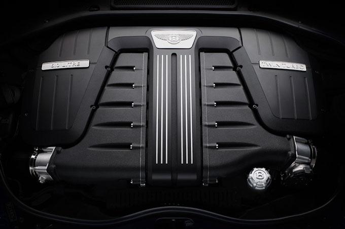 Bentley Continental GT Speed 2012 engine bay image