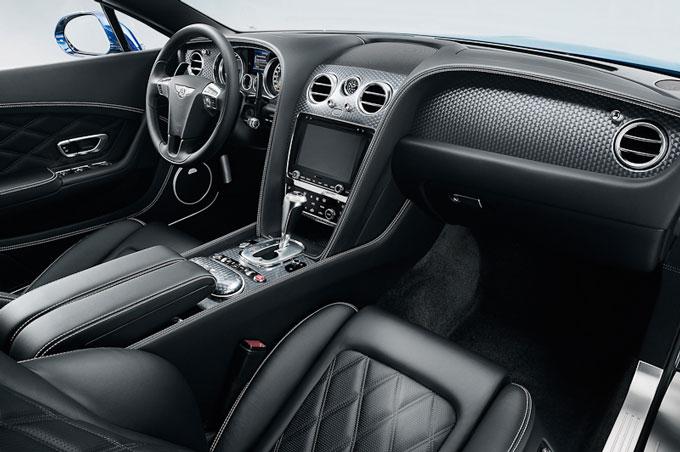 Bentley Continental GT Speed 2012 interior