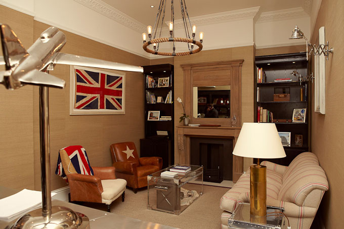 Bremont South Audley Street Mayfair - Boutique launch party interior image