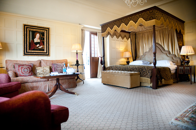 Danesfield House Hotel and Spa luxury double suite