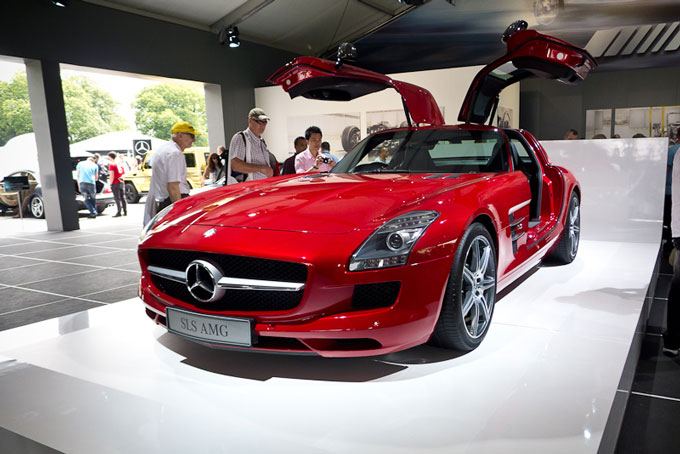 Goodwood Festival of Speed 2012 Mercedes Benz SLS AMG image